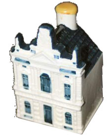 AMSTELVEEN, August 31, 2005 - KLM Royal Dutch Airlines will celebrate its 86th anniversary in true tradition with the introduction of a new Delftware miniature. The Delftware miniatures are usually replicas of historical buildings located in the Netherlands. The Teylers Museum in Haarlem was selected for the 86th house because it is the oldest museum in the Netherlands. A first copy of the miniature will be presented to Mrs. Scharloo, curator of Teylers Museum, by Mr. Varwijk, Senior Vice President & Area Manager Western Europe on the occasion of KLM's 86th anniversary on October 7, 2005.