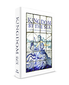 Limited Edition of the high-end coffee table book 'Kingdom by the Sea' (only 250 copies were made) with a Delft blue porcelain (!) cover of infinite beauty. This world-exclusive comes with a certificate of authenticity. The Limited Edition is numbered and signed by the author. 'Kingdom by the Sea, a celebration of Dutch cultural heritage' is tribute to the people who left their mark on the development of the Netherlands, and who lived in the houses which modelled for the KLM collection. The book is richly illustrated with more than 1.800 full colour photos, fine art and historic maps of cities across the Netherlands. 'Kingdom by the Sea' contains 448 full color pages, and is printed on high quality paper.