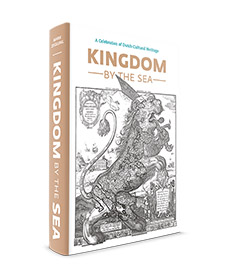 'Kingdom by the Sea' is a tribute to the people who left their mark on Dutch cultural heritage, and who lived in the houses which modelled for the KLM collection. The book is richly illustrated with more than 1.800 full colour photos, fine art and historic maps of cities across the Netherlands. 'Kingdom by the Sea' contains 448 full color pages, and is printed on high quality paper. It's a true gem to behold, a splendid addition to your collection KLM houses